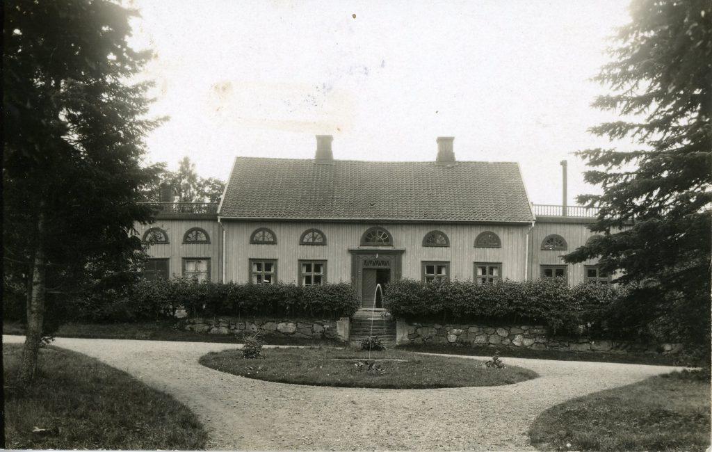 Berga, Velinga socken i Västergötland (på 1920-talet).