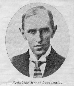 Ernst Serrander (1883-1941)