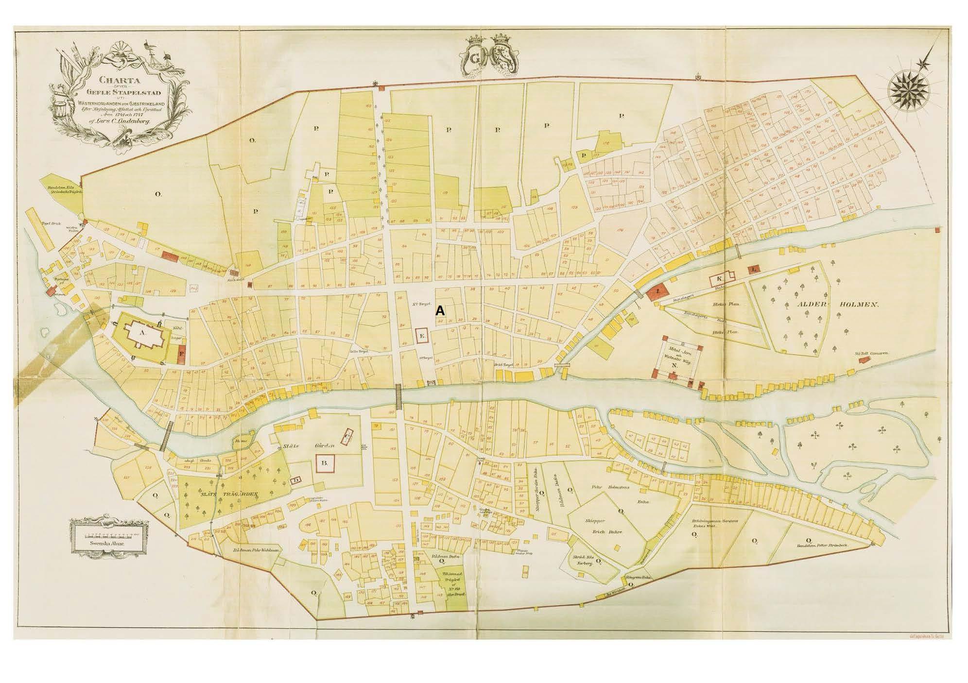 Gävle 1741-1747