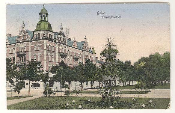 Gevaliapalatset. G L Lyman var både delägare och hyresgäst, och senare bodde Klingberg här.