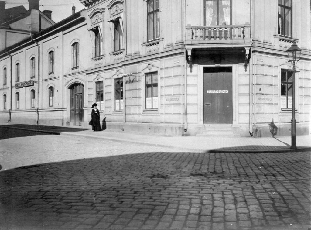 Norrlandspostens redaktion och tryckeri