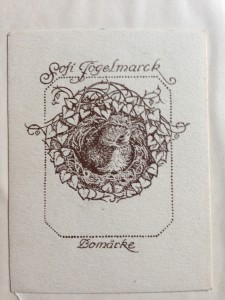 exlibris Sofi Fogelmarck