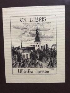 exlibris Ulla Bo Janson
